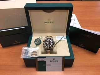 Rolex GMT Master Half Gold