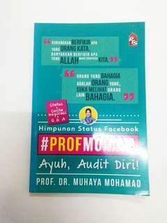 Buku Motivasi Islamik : Prof. Muhaya, Ayuh, Audit Diri!