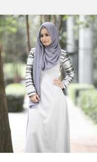 Diyana x Fatimah Brocade long dress
