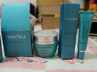 (Preloved) novage skin care take all 2 pcs