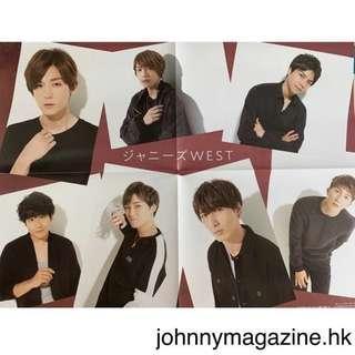 求清4️⃣3️⃣ Myojo 2018年11月号 ジャニーズWEST/ King&Prince拉頁