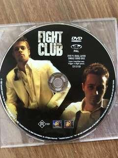 Fight Club Movie DVD