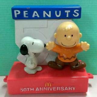 麥當勞50週年紀念品玩具