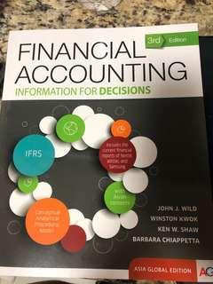 ACC1701 Financial Accounting Textbook