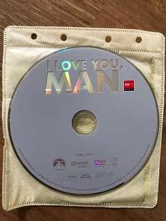 I Love You Man Movie DVD