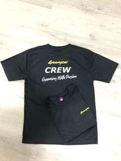 Groomycar Crew Tee