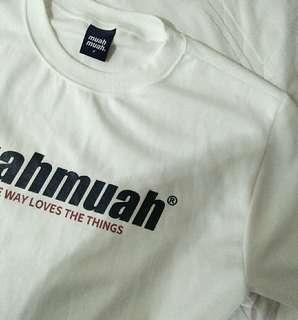 🚚 🇰🇷🇰🇷 ✨全新保證正版!muahmuah 短袖寬鬆T恤