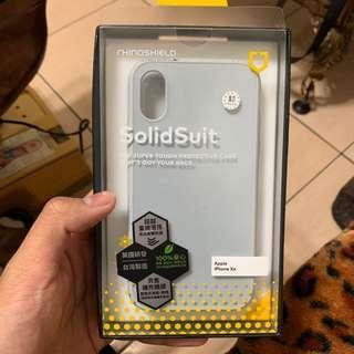 全新僅拆封 iPhone XS 犀牛盾 灰色 全包殼