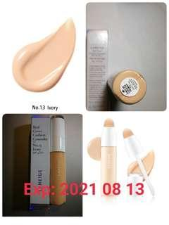 (no. 13 ivory) Laneige Real Cover Cushion Concealer SPF 35 PA ++ 遮瑕