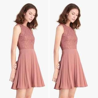 FAYTH (SG Brand) Blush Lace Dress (NEW without TAG)