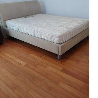 Queen-sized Bed with Mattress