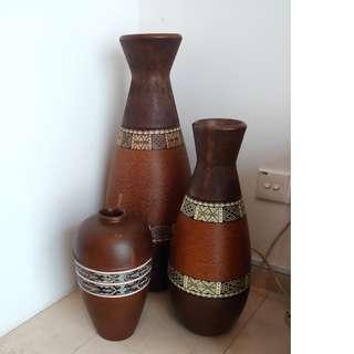 Exotic Decorative Vases for Display