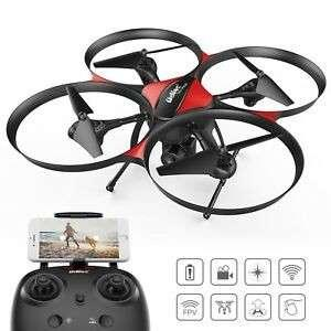 Drocon U818A PLUS – Kids and Beginners Drone, Camera Included