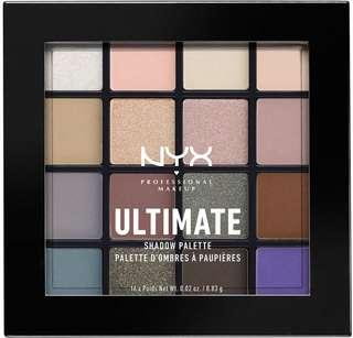 NYX Ultimate Shadow Palette - Cool Neutrals