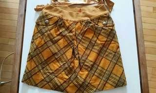 Mustard Yellow Skirt medium