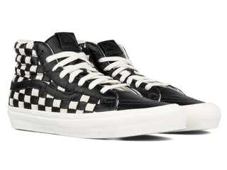 🚚 ( 50th Anniversary ) Vans Vault Checkered Sk8 Hi Woven