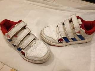 Adidas limited ed spiderman shoes orig px $80