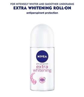 NIVEA Extra Whitening Deodorant Roll-On