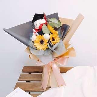 🚚 Sunflower Bouquet: Happy Graduation