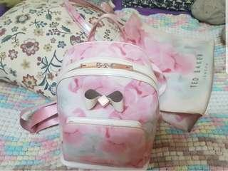 Ted Baker Backpack and Large Bag