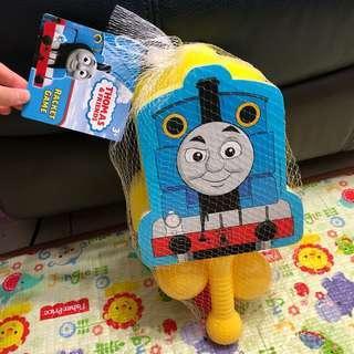 全新Thomas球拍玩具連兩個波波