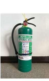 Pisces Fire Extinguisher (HCFC) large size
