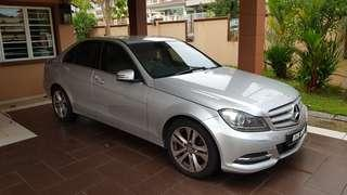 Mercedes Benz 2013 W204 C200 1.8(A) Facelift Avantgarde CKD