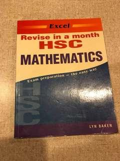 Excel Revise in a month HSC Mathematics