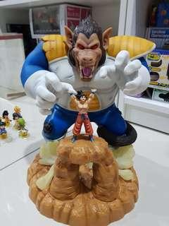 Dragon Ball vegeta ozzaru with goku genki dama