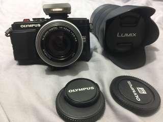 OLYMPUS E-PL6微單眼+14-42mm餅乾鏡頭+14-140旅遊鏡