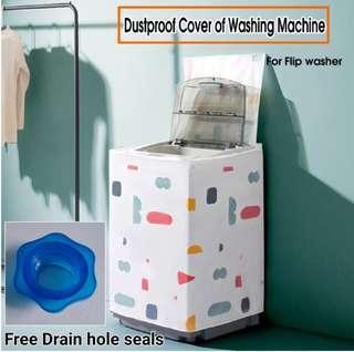 Washing machine cover waterproof
