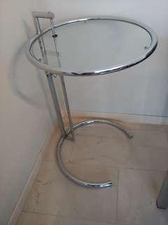 Elegant Round Side Table (Adjustible Height)