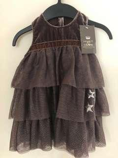 🚚 Hust & Claire Baby Girl Dress 80cm
