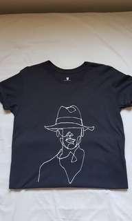 Line drawing tshirt