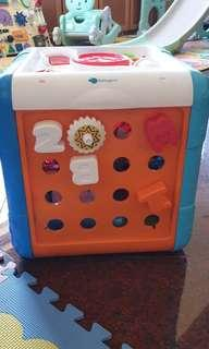🚚 Activity toys cube toddler kids busy cube
