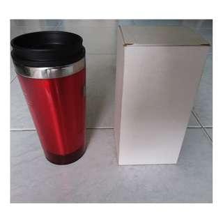Red Stainless Steel Travel mug 18 cm (BNIB)  #EndgameYourExcess