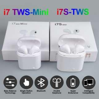 Improved V5  Wireless TWSI Normal and TWSI Mini Bluetooth Earpiece