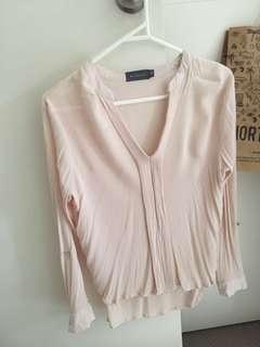 Long sleeve blouse, size 8! Never worn