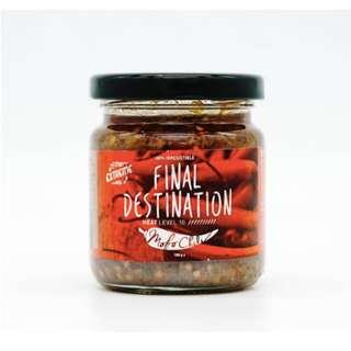 Mofo Chili Level 10 FInal Destination Chili (180G) - expire June 2019