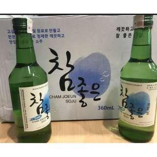 Soju Cham Joeun 100% Asli
