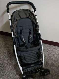 嬰兒推車(含蚊帳)7成新