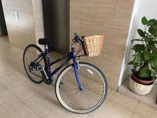 Raleigh bike 28inch with basket