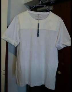Men's White Cotton Tee.Size M.Brand new with tag