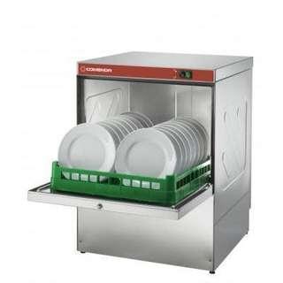 Dishwasher: Single-phase 15 amp Comenda Redline RF321 Undercounter Diswasher