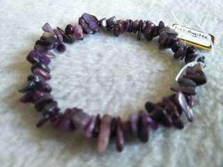 Sugilite bracelet 天然舒俱来随型手链