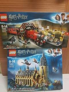 Lego Harry potter 75954 & 75955