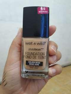 Free ongkir jabodetabek foundation wet n wild shade golden beige