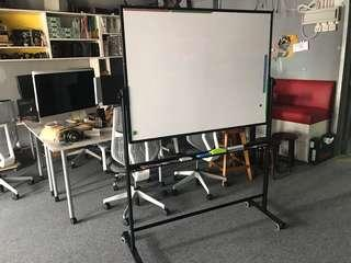 White board on wheels