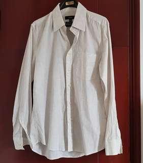 Bossini White Patterned Shirt 印花恤衫