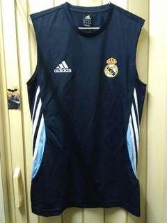 Adidas西班牙皇家馬德里2003年練習背心 西甲